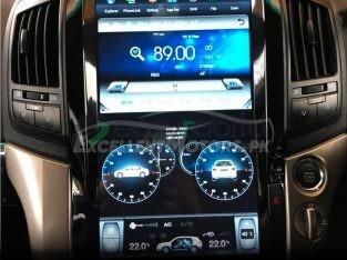Land Cruiser/Prado 2010 Tesla Style Android Panel