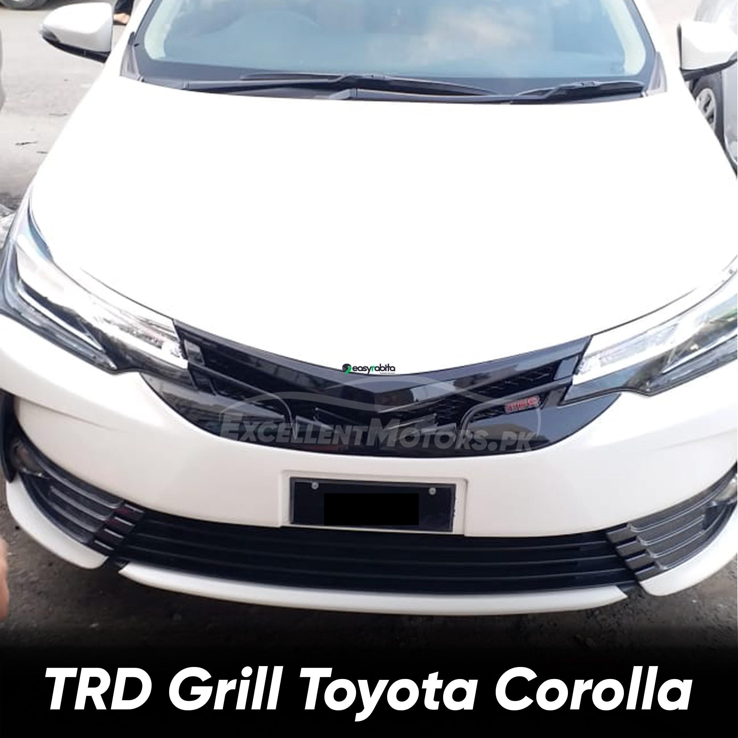 TRD Grill Toyota Corolla